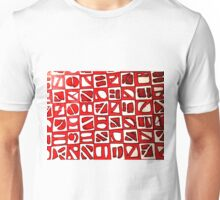 The American Red Square Unisex T-Shirt