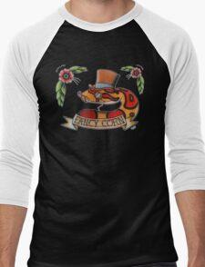 """Fancy Corn"" Men's Baseball ¾ T-Shirt"