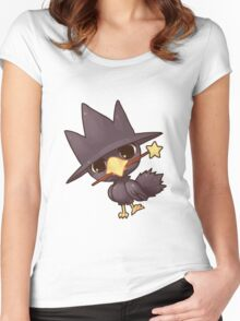 murkrow Women's Fitted Scoop T-Shirt