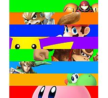 Smash for WiiU and 3DS - Old School 64  Photographic Print