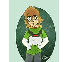 Pidge Believed In Aliens Before It was Cool Photographic Print