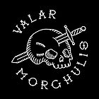 Valar Morghulis White Chest Emblem by Aguvagu