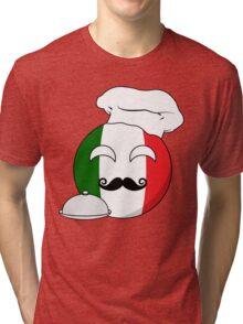 Italian ball Tri-blend T-Shirt