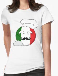Italian ball Womens Fitted T-Shirt