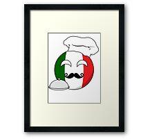 Italian ball Framed Print