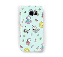 Summer Unicorn Pool Party Samsung Galaxy Case/Skin