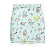 Summer Unicorn Pool Party Mini Skirt