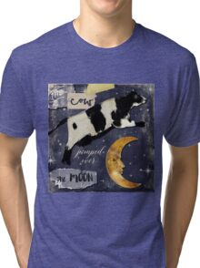 Cow Jumped Over The Moon Tri-blend T-Shirt