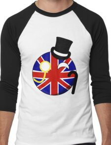 British ball Men's Baseball ¾ T-Shirt