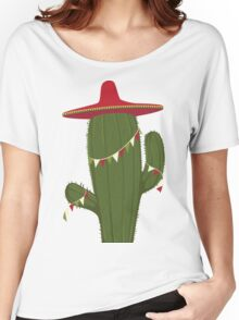 Elegant and Beautiful Cactus Desert Plant Women's Relaxed Fit T-Shirt
