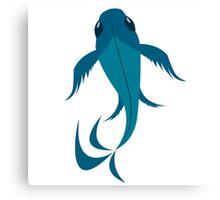 Blue Koi Fish  Canvas Print