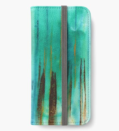 Beach Fence iPhone Wallet