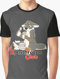 Not at Anthrocon Club Graphic T-Shirt