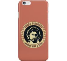 Snake Plissken (doesn't give a shit) Vintage iPhone Case/Skin