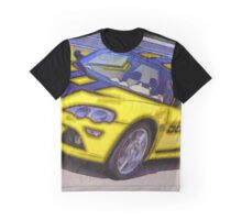 Yello-Car-Justin Beck-picture-2015102 Graphic T-Shirt