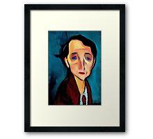 portrait-of-franz-hellens Framed Print