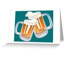 BEER-2 Greeting Card