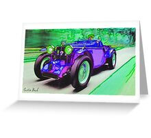 Purple-Car-Justin Beck-picture-2015101 Greeting Card
