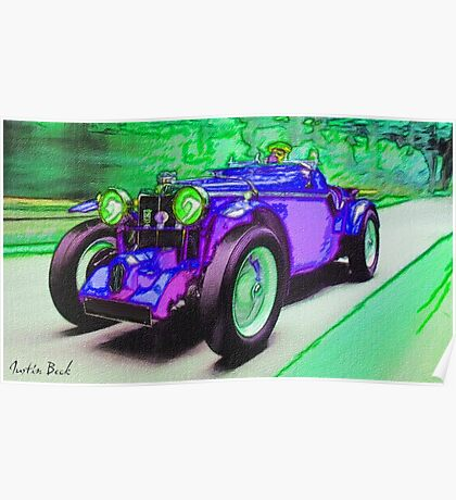 Purple-Car-Justin Beck-picture-2015101 Poster