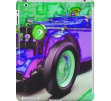 Purple-Car-Justin Beck-picture-2015101 iPad Case/Skin