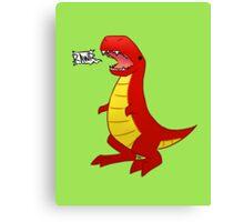 T-Rex? Canvas Print