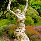 Statue and Gardens by John Butler