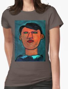 portrait of a young picasso Womens Fitted T-Shirt