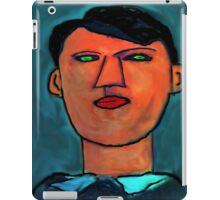 portrait of a young picasso iPad Case/Skin