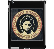 Snake Plissken (doesn't give a shit) Vintage iPad Case/Skin