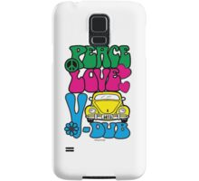 PEACE LOVE V-DUB - BEETLE Samsung Galaxy Case/Skin