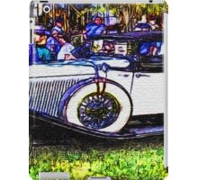 Old-White-Car-Justin Beck-picture-2015104 iPad Case/Skin
