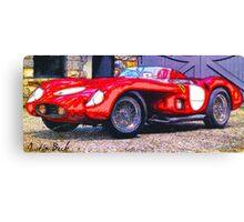 Old-Ferrari-Justin Beck-picture-2015105 Canvas Print