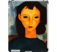portrait of a woman iPad Case/Skin