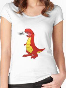 T-Rex? Women's Fitted Scoop T-Shirt