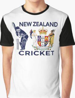 New Zealand Cricket Graphic T-Shirt