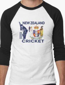 New Zealand Cricket Men's Baseball ¾ T-Shirt