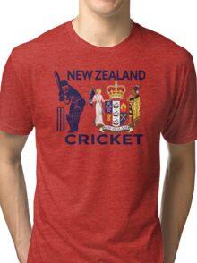 New Zealand Cricket Tri-blend T-Shirt