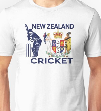 New Zealand Cricket Unisex T-Shirt
