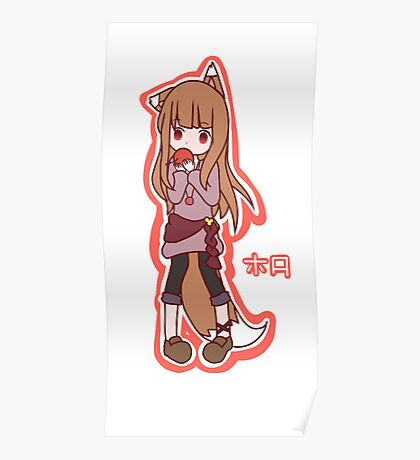 Horo - Spice and Wolf Poster