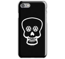 VW SKULL - WHITE iPhone Case/Skin