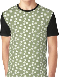 Elderflowers on green Graphic T-Shirt