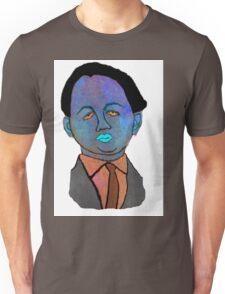 portrait of a mechanic  Unisex T-Shirt