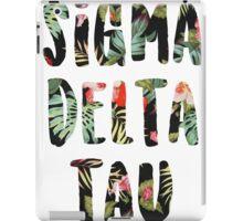 Sigma Delta Tau iPad Case/Skin