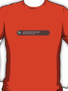Achievement Unlocked: 50G - Left The House T-Shirt