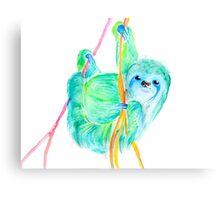 Dream Sloth Canvas Print