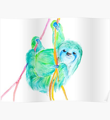 Dream Sloth Poster