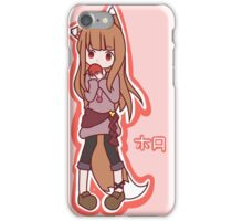 Horo - Spice and Wolf iPhone Case/Skin