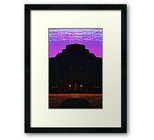 CORPORATE NIGHTMARE Framed Print