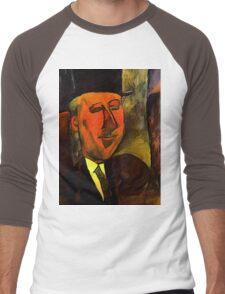 portrait of max jacobs Men's Baseball ¾ T-Shirt