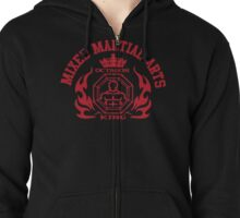 MMA Mixed Martial Arts Octagon King Zipped Hoodie